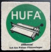 HUFA-Untersetzer echt Marmor- Für echte HUFA Fan´s